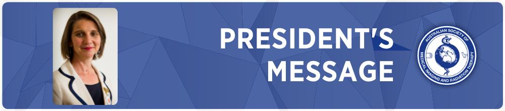 President's Message – September 2021